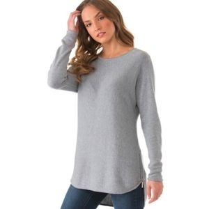 Michael Kors Medium High Low Hem Side Zip Sweater